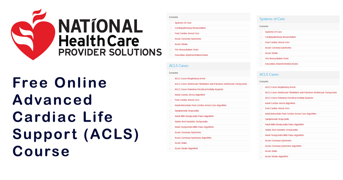 free online acls course