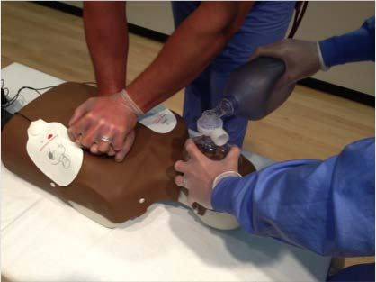 AED resume CPR 2