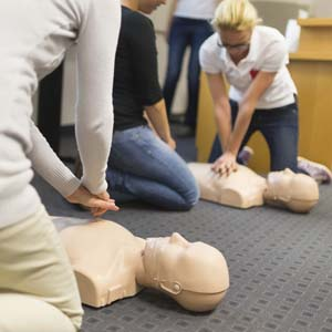 CPR class in session